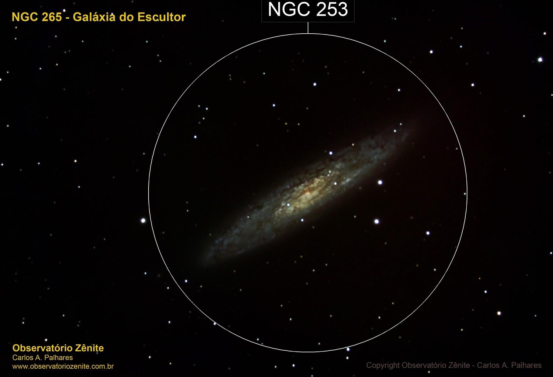 NGC 253 - Galáxia do Escultor