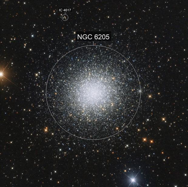 Messier 13. Globular Cluster