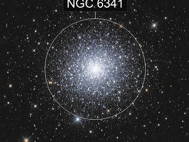 Messier 92, NGC 6341, Globular Cluster