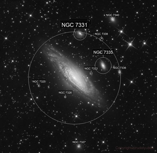NGC7331 and Co. (Deer Lick Group)
