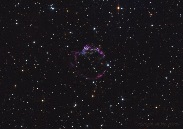 Cassiopeia A (Cas A) Supernova Remnant in SII/OIII/RGB