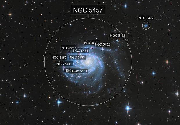 Messier 101- Pinwheel Galaxy