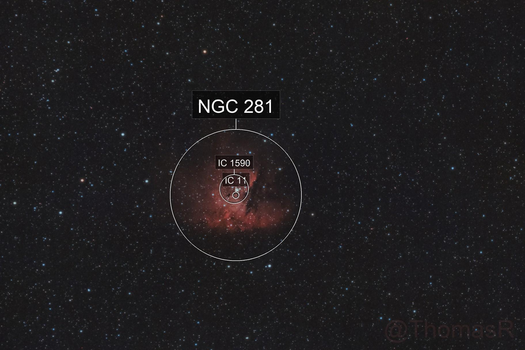 NGC 281: The Pacman Nebula