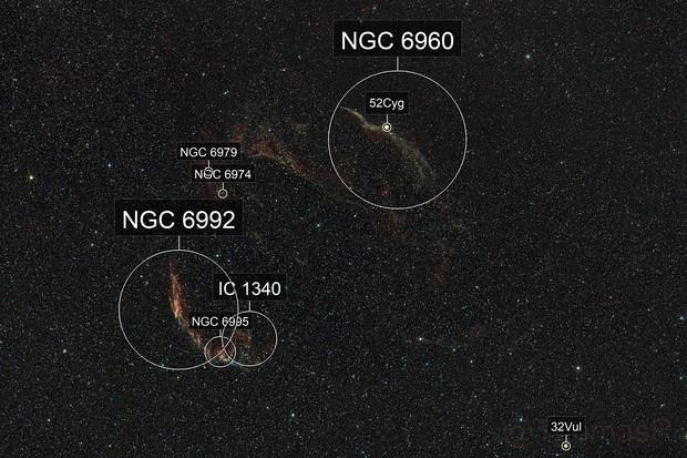 Cygnus Loop / Veil Nebula