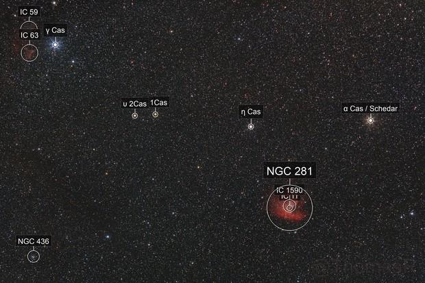NGC 281 Widefield
