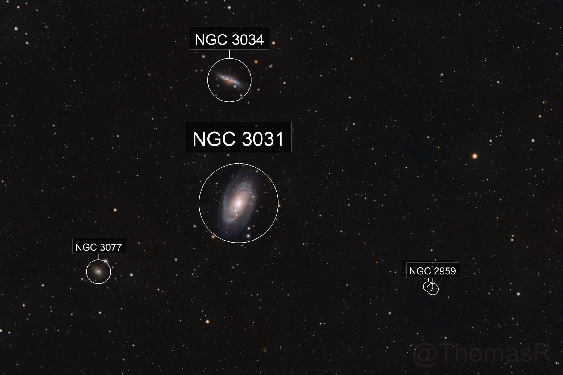 M81 & M82 Widefield