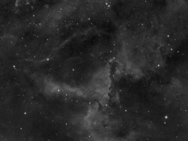 The Rosette Nebula - detail