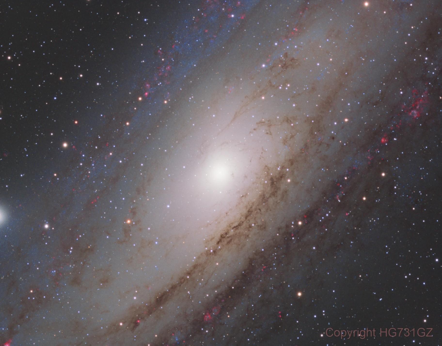 A close sight to M31