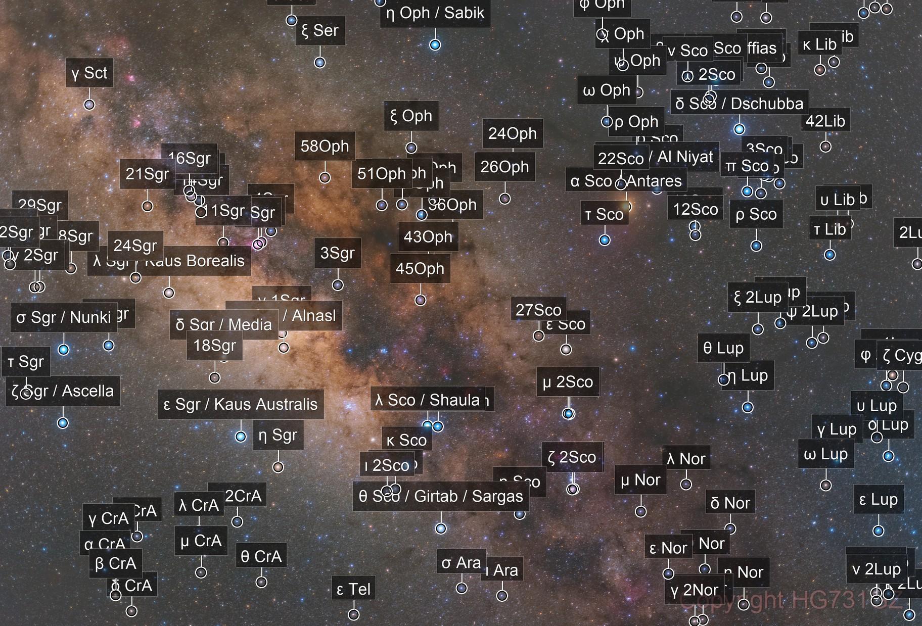 Scorpio & The Heart of Milky Way