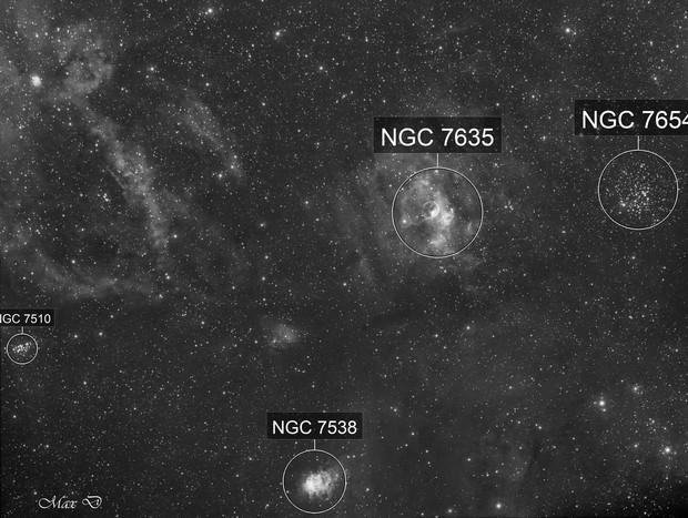 NGC7635 Ha