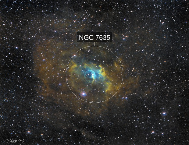 NGC 7635 SHO
