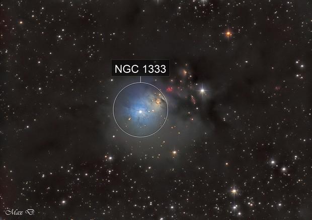 NGC 1333 in Ha-LRGB