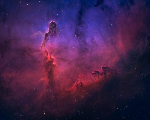 Revisiting Elephant's Trunk Nebula