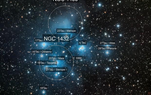 LRGB - Pleiades (M45)