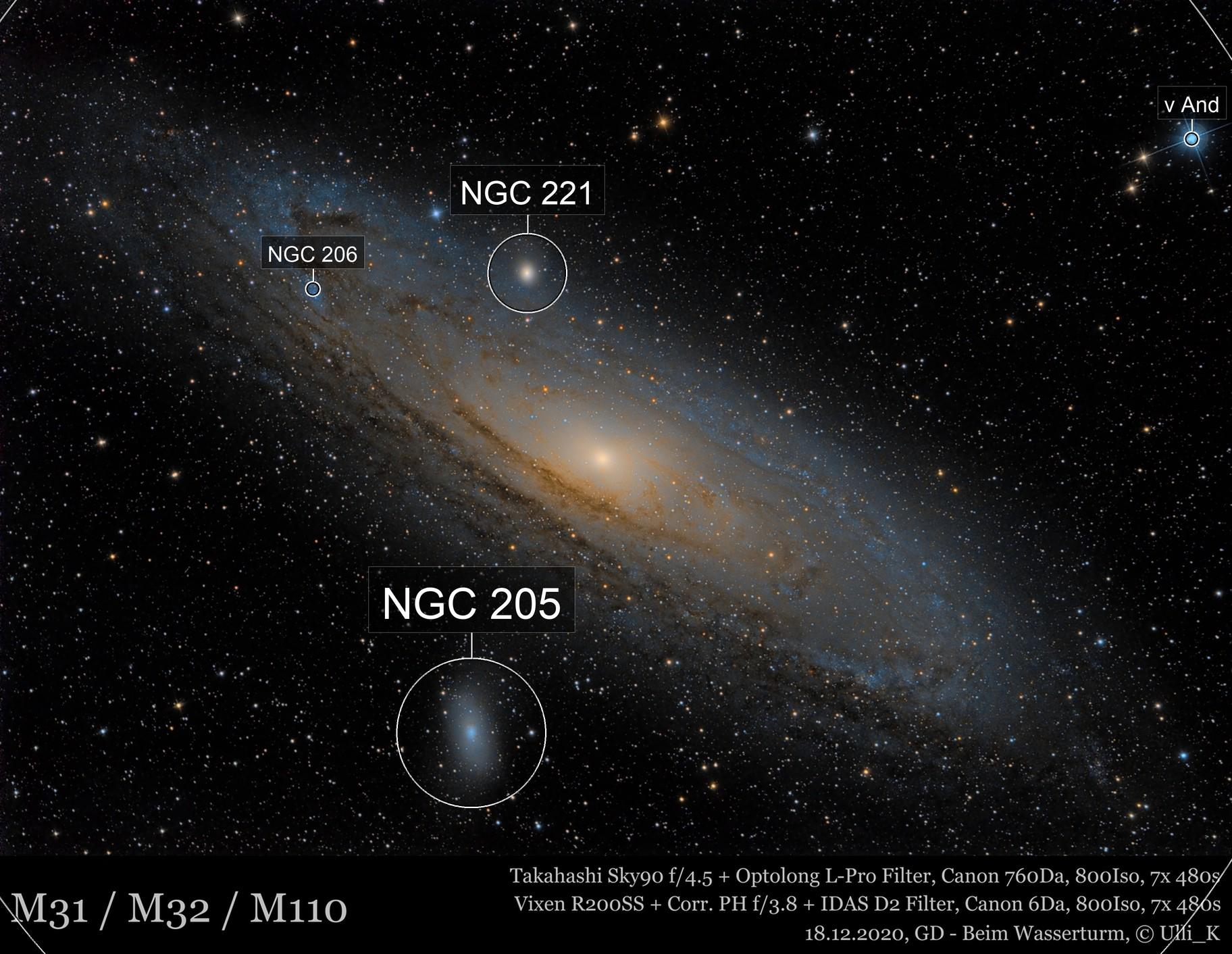 Great Andromeda nebula