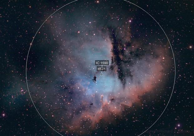 NGC281 Pac-Man