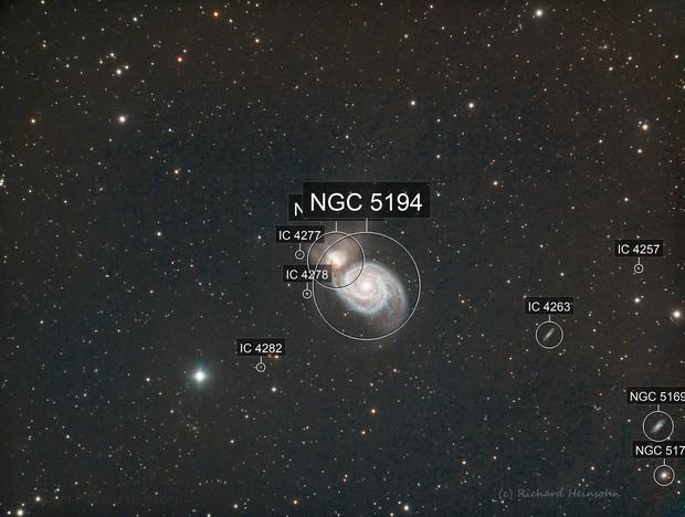 NGC 5195 and NGC 5194 LRGB