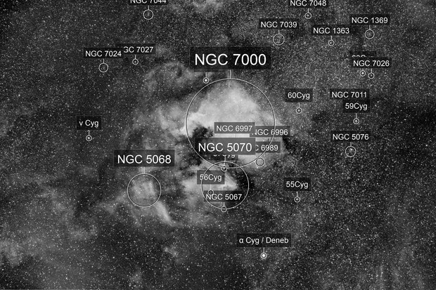 NGC7000 in Ha