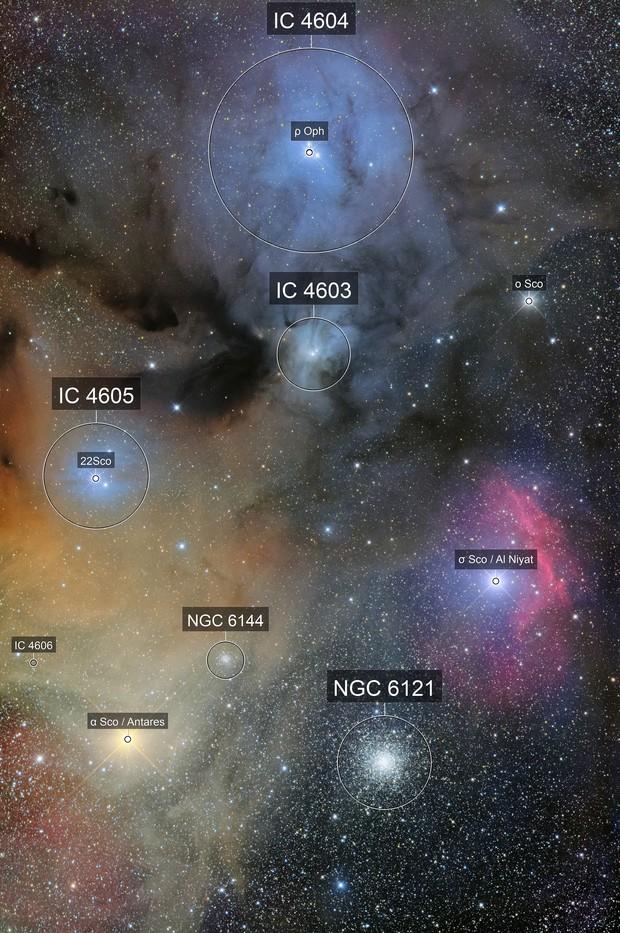 Around Antares