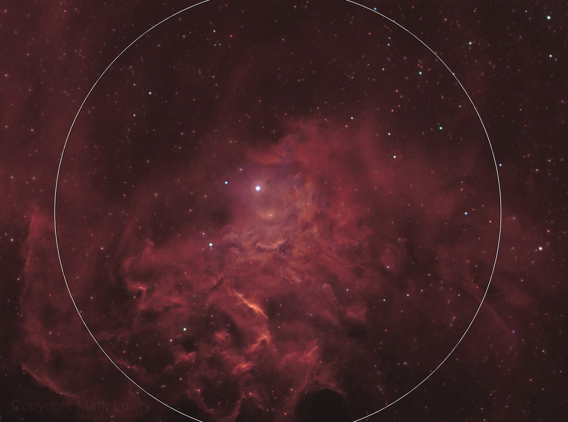 IC 405- The Flaming Star Nebula