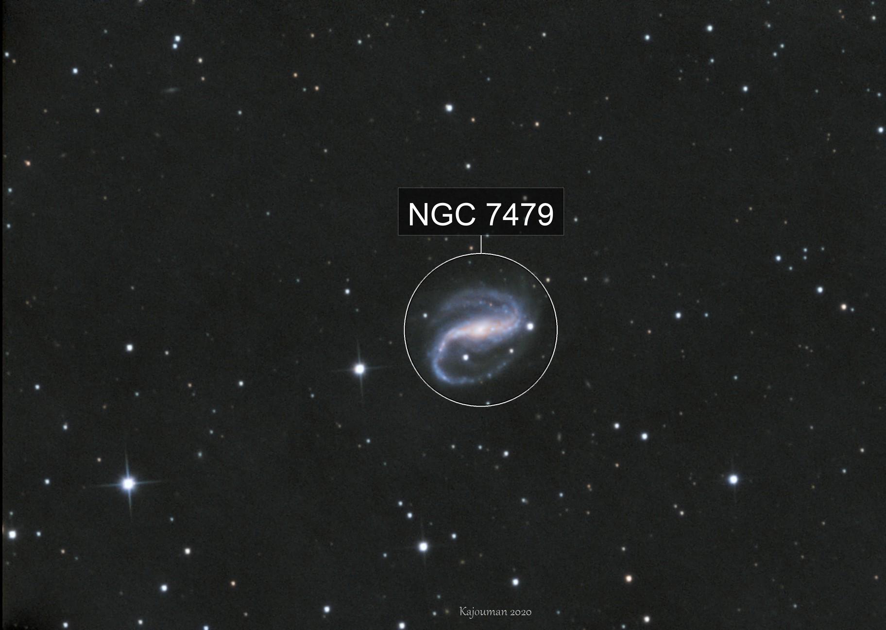 NGC 7479 LRGB