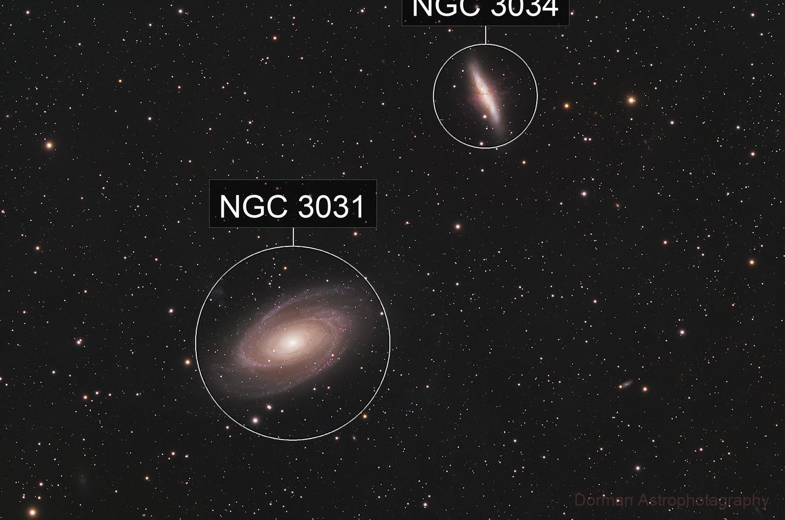 M81/M82 Bodes Nebula