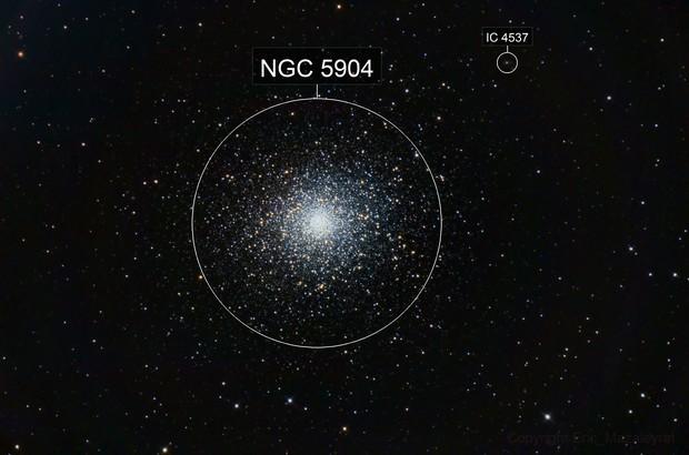 M5 Open Cluster in Serpens
