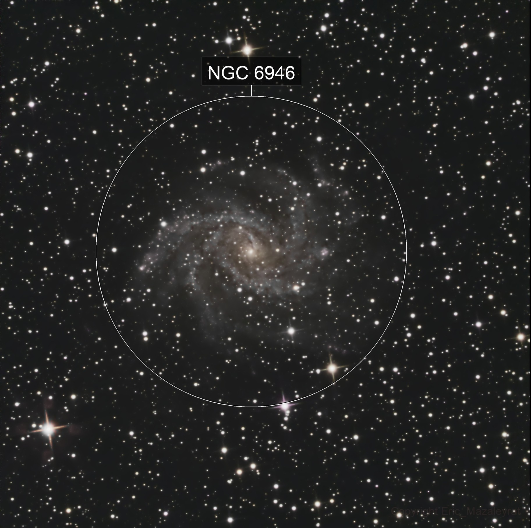 Fireworks Galaxy NGC6946