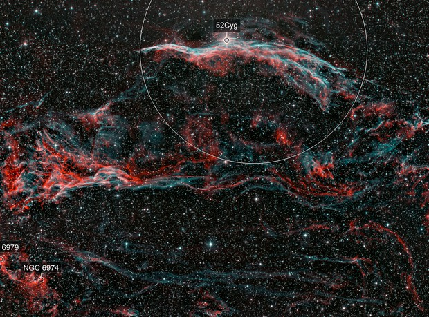 52 Cygnus region