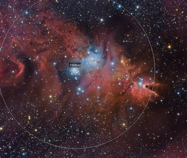 Cone Nebula and Fox Fur