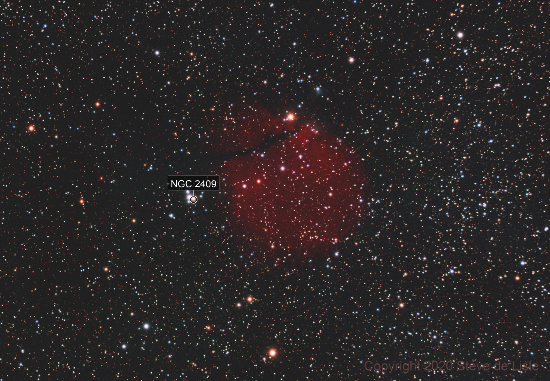 SH2-302 Snowman nebula