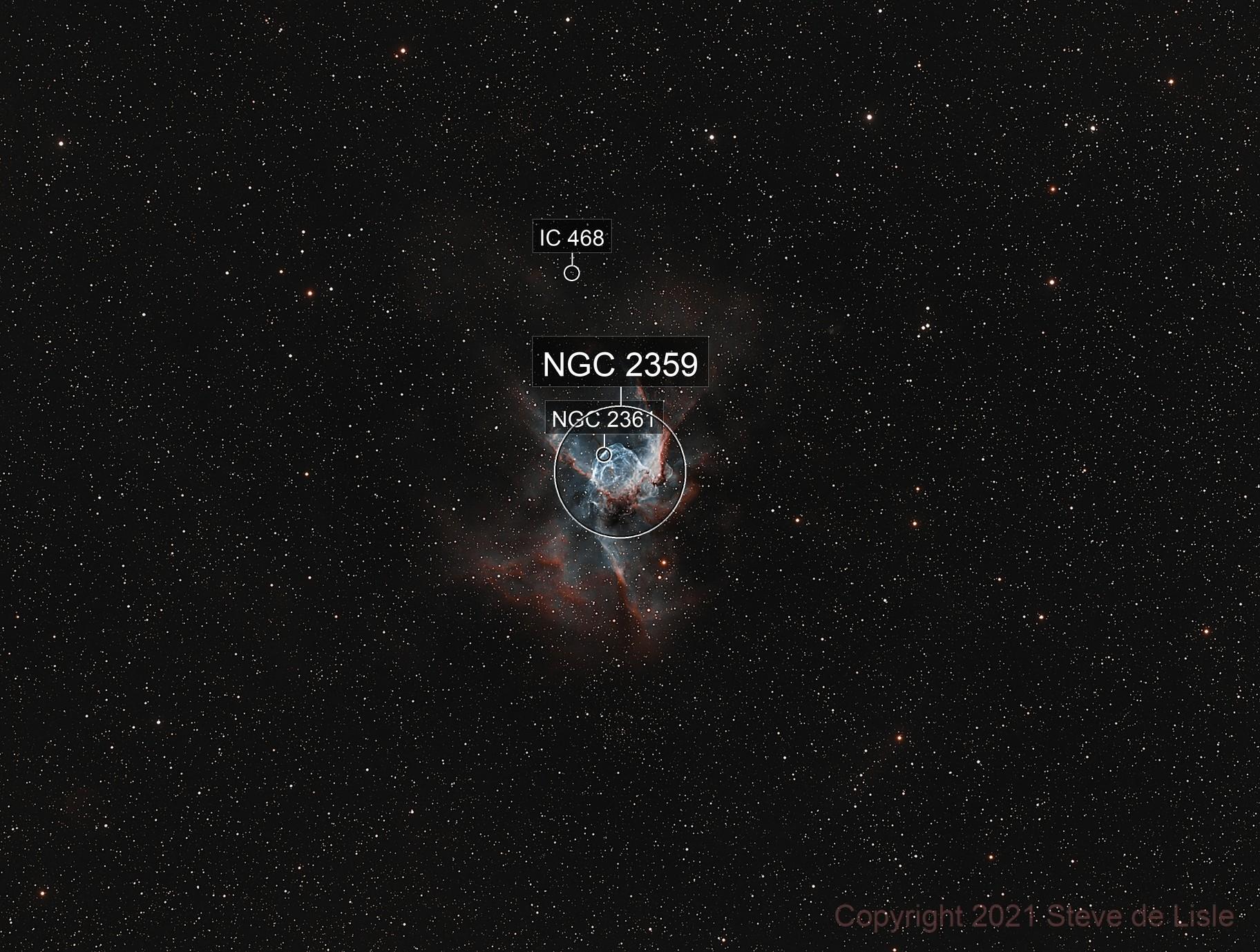 NGC2359 - Thor's helmet