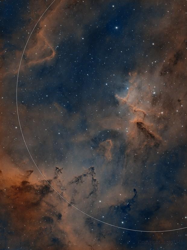 Heart of the Heart nebula (IC 1805)