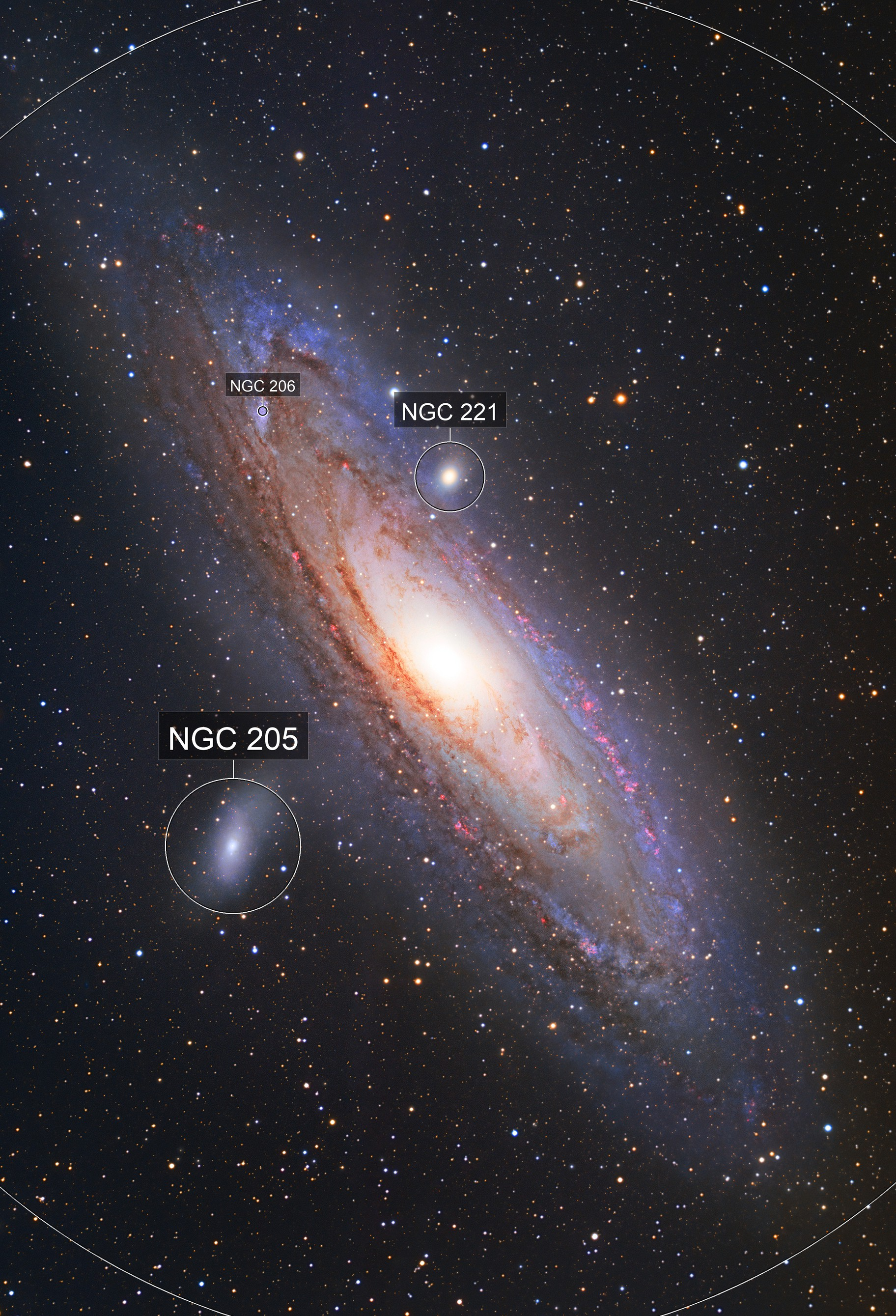 M31 - The Andromeda Galaxy in HaLRGB