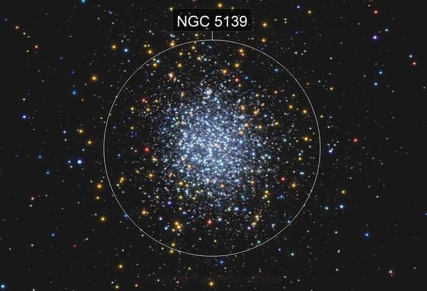 NGC-5139   THE OMEGA CENTAURI GLOBULAR CLUSTER