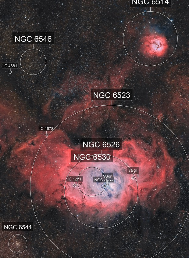 Mosaïque M8-M20 HOO