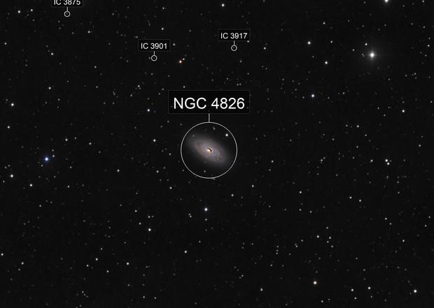 M64-galaxie de l'oeil Noir