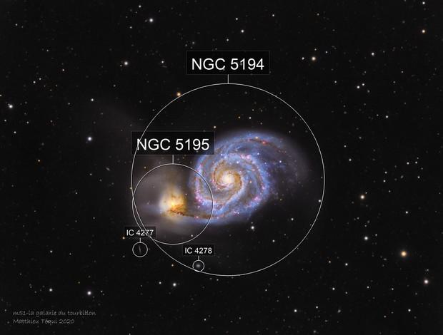 M51-la galaxie du tourbbillon