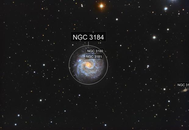Ngc 3184- the little pinwheel