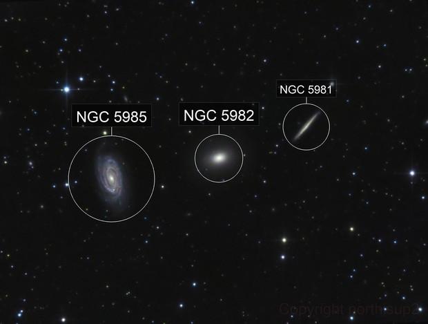 NGC 5982 ( the Draco Group )