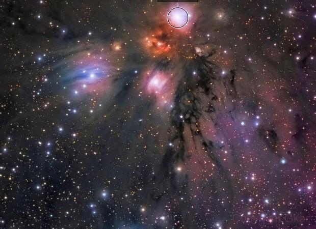 """NGC2170 """" Nébuleuse de l'Ange """""""