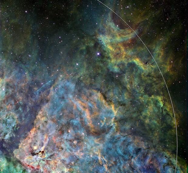 Eta Carina Nebula Northeast