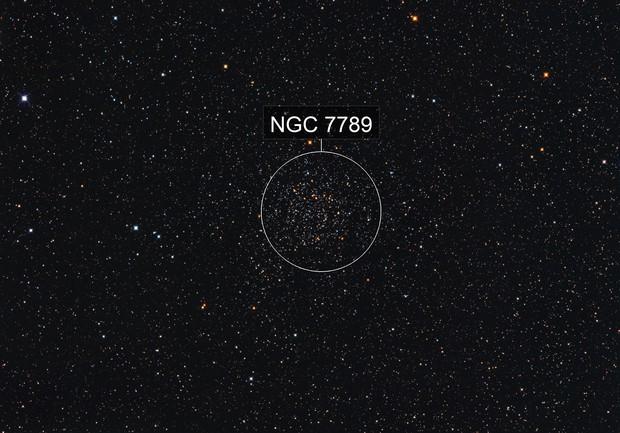 RGB NGC 7789 Caroline's Rose Cluster