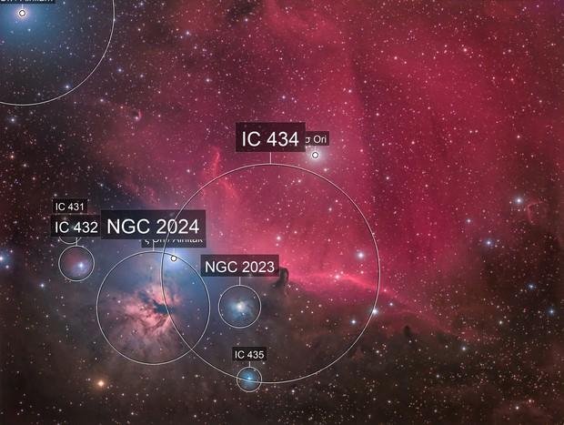 IC434 Widefield