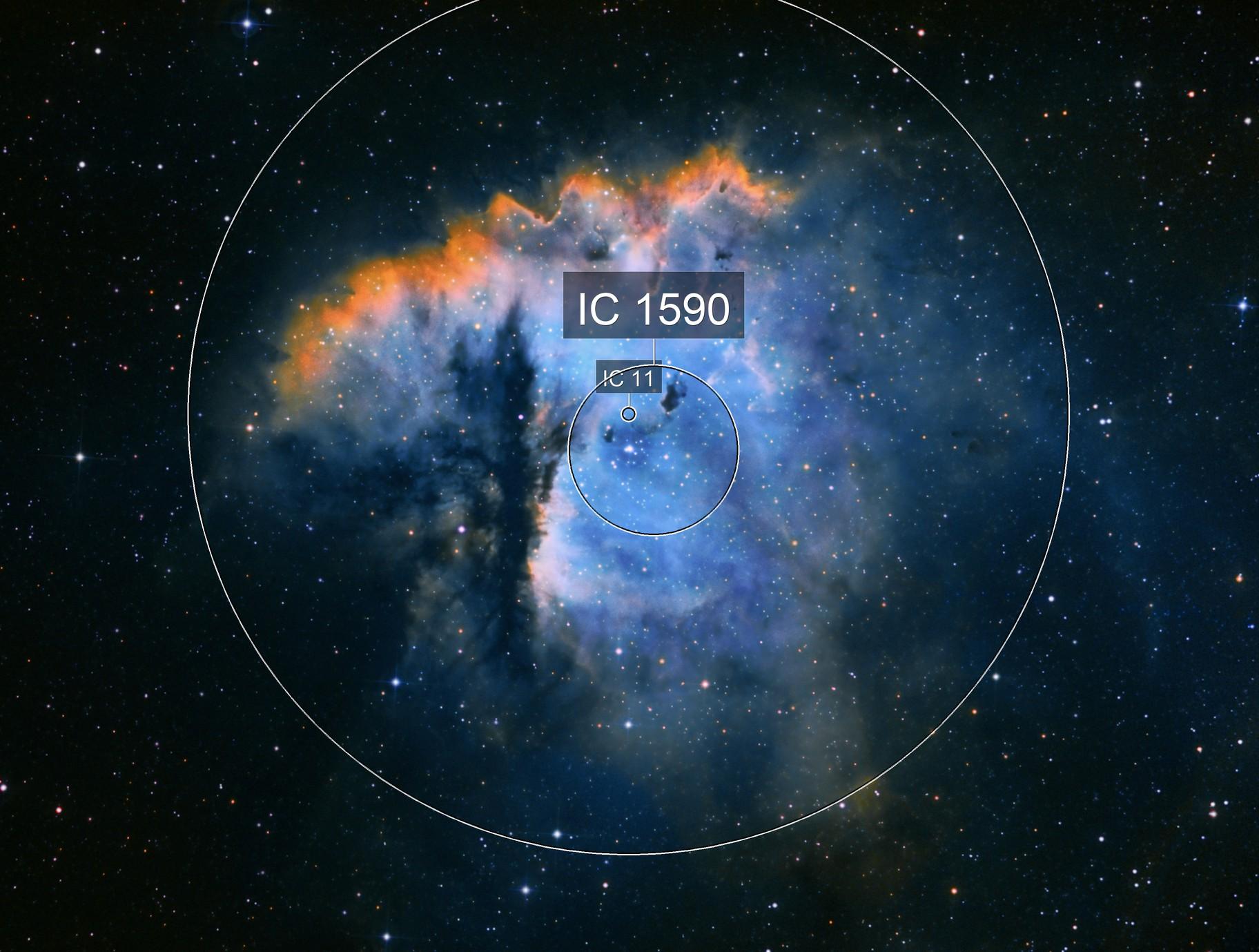 NGC281 Pac-man SHO