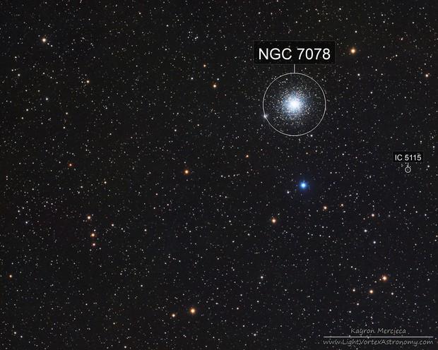M15 Globular Cluster in LRGB