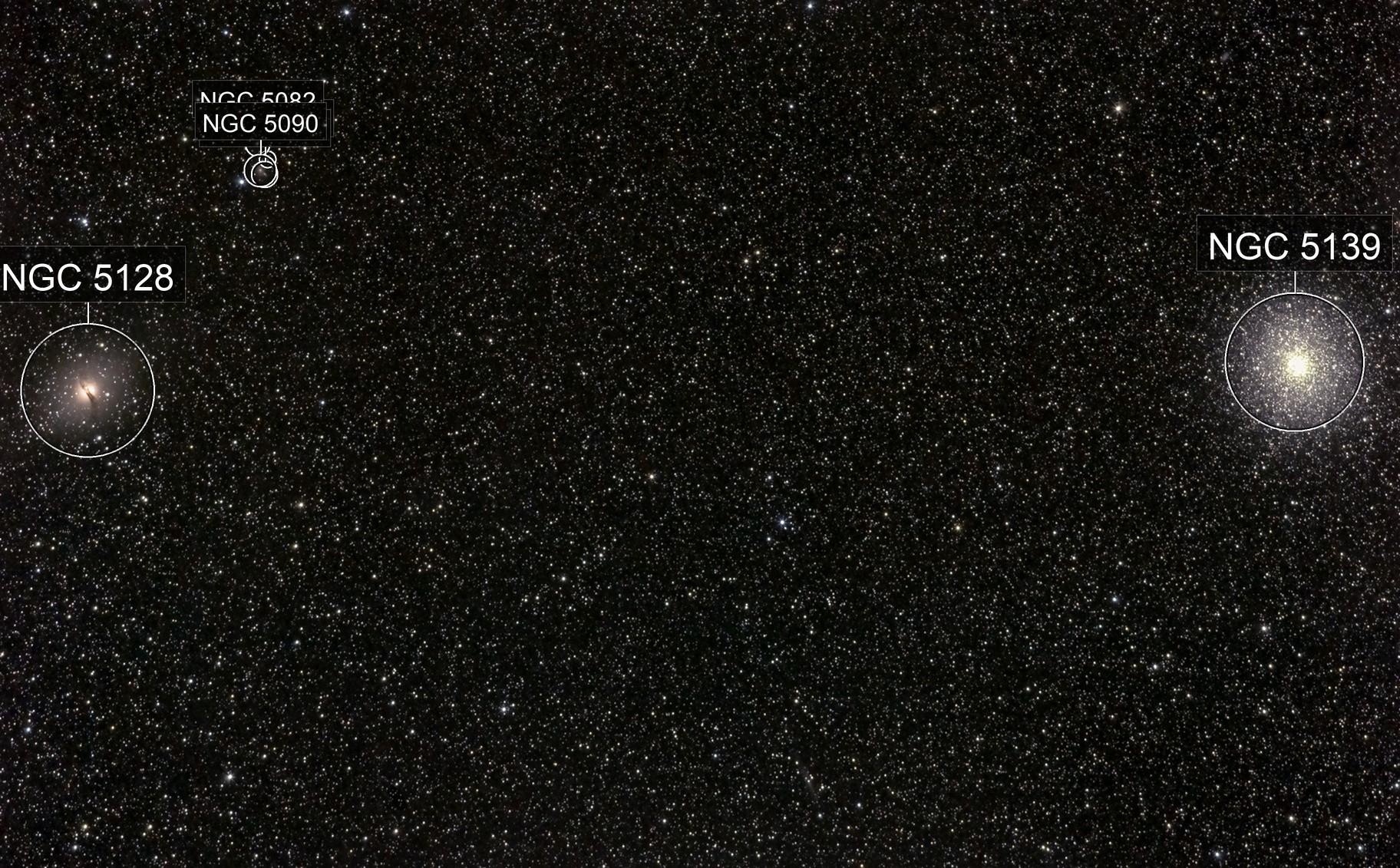 NGC 5128 & NGC 5139