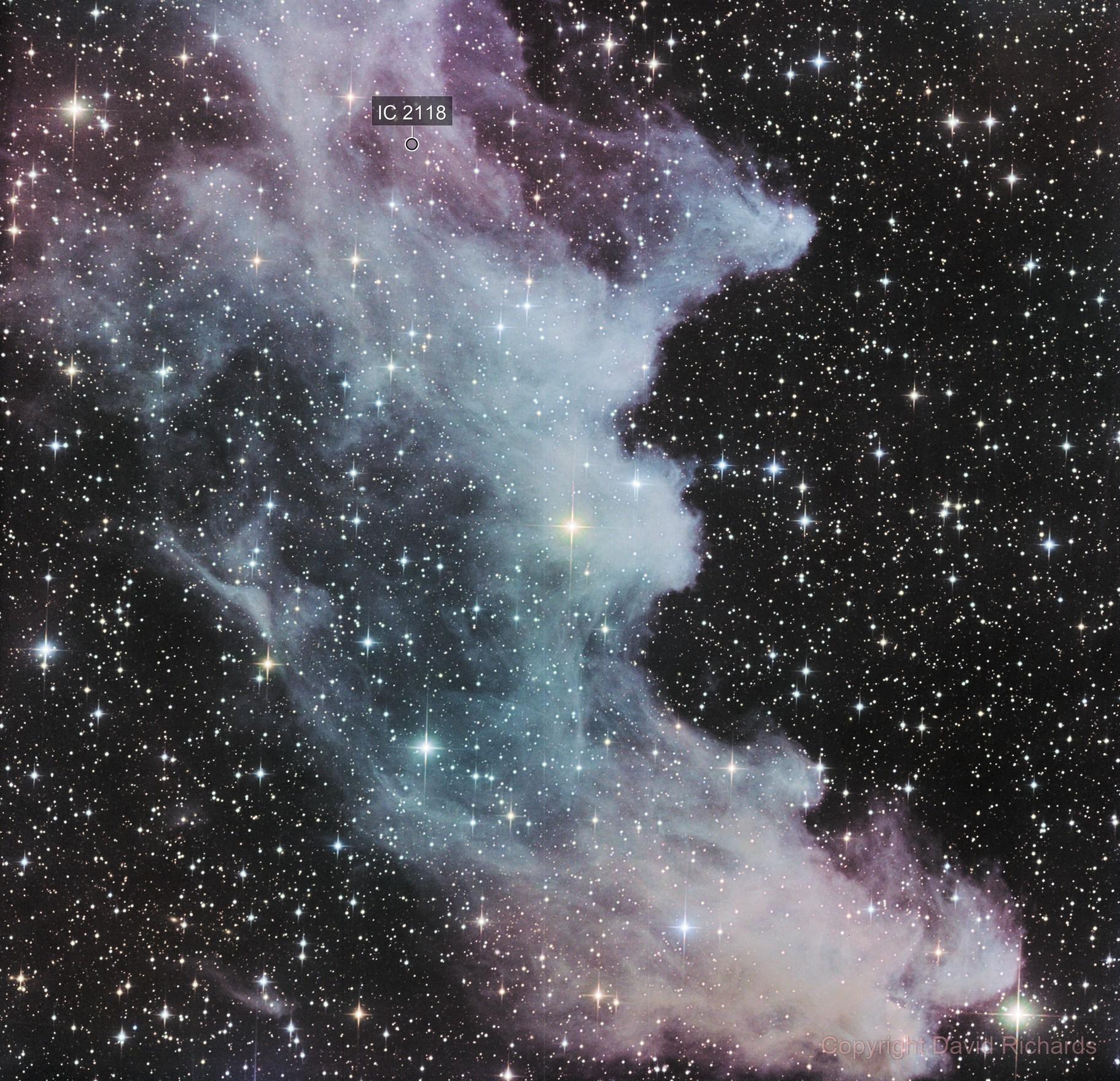 Witch Head Nebula - Insight Observatory