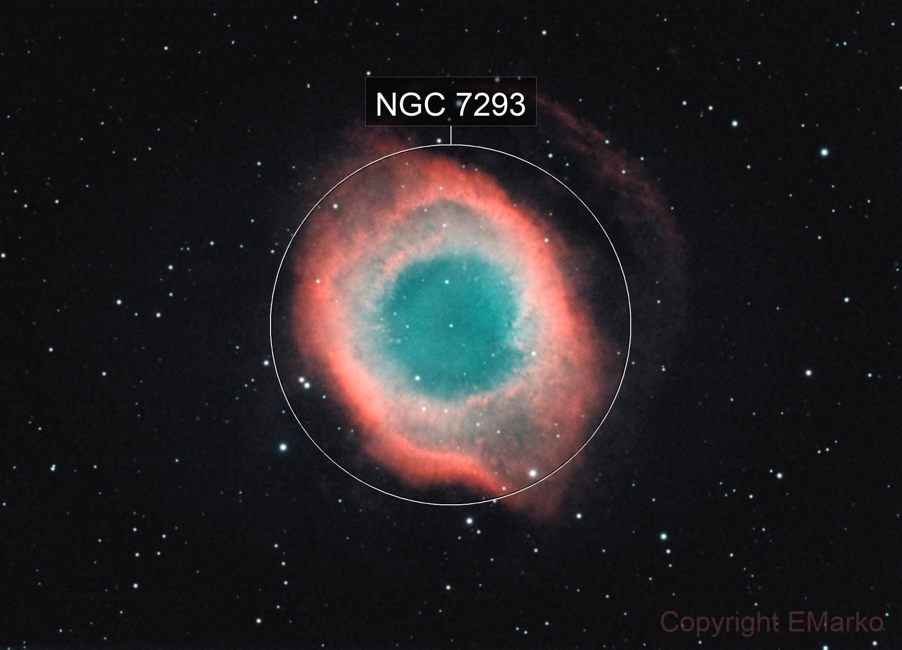 The Helix Nebula (NGC 7293, Caldwell 63)