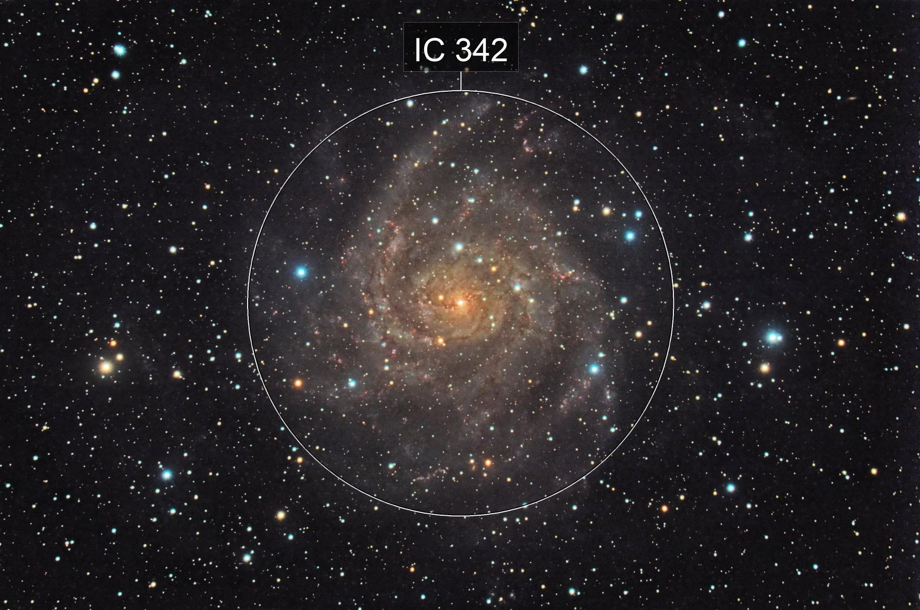 The Hidden Galaxy (IC 342)